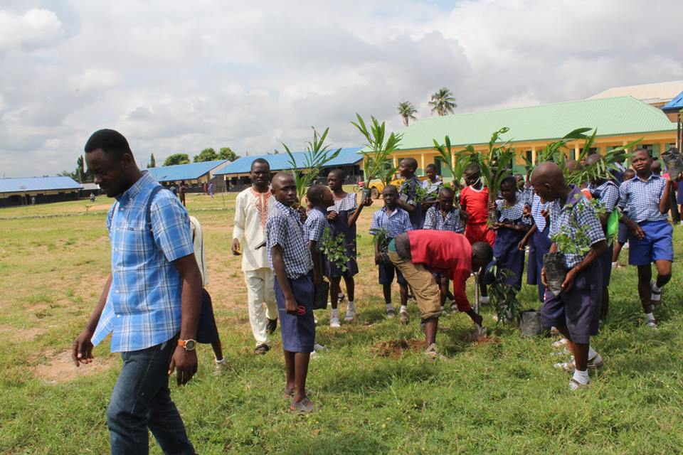 WEP AND TfC PLANTING 2000 TREES ACROSS NIGERIA