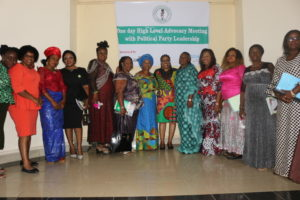 Group Picture of the APGA Women and WEP Team in Awka.