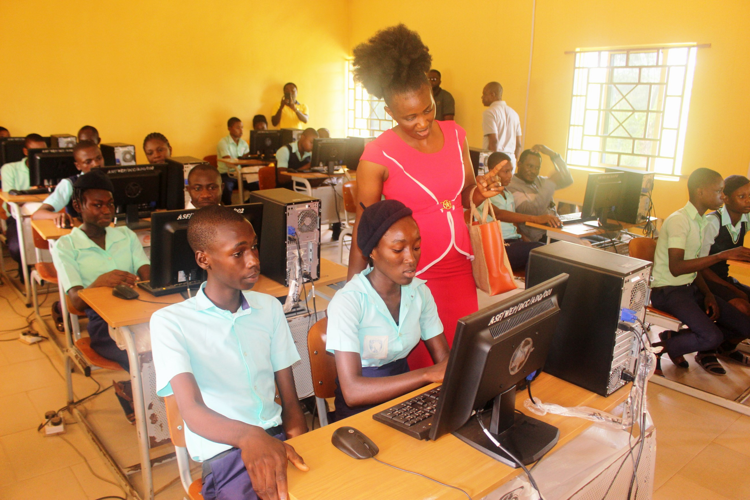 DIGITAL/CREATIVE COMPUTER LABORATORIES DONATED TO COMMUNITY SCHOOLS