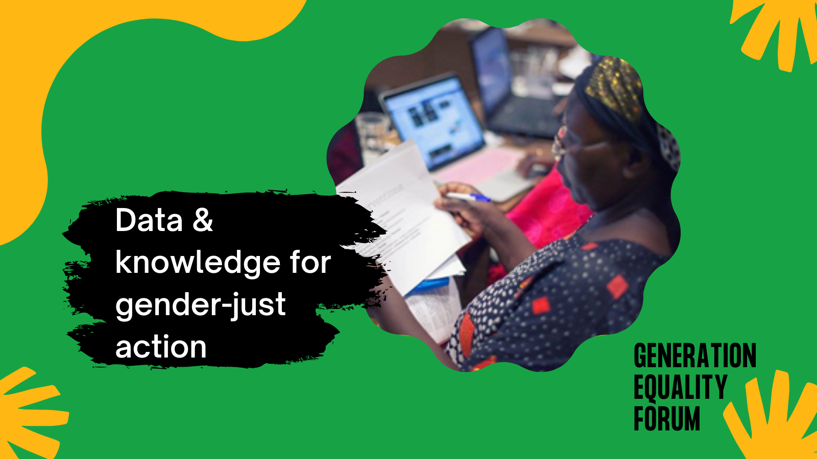 WE CAN'T BUILD FEMINIST POLICIES WITHOUT DATA AT THE NEXUS OF GENDER, ENVIRONMENT AND CLIMATE...