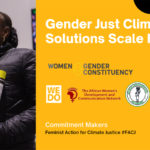 GENDER JUST CLIMATE SOLUTIONS (GJCS) SCALE FUND LAUNCHED AT GENERATION EQUALITY FORUM